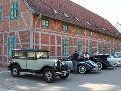 Geführte Oldtimerfahrt durch Brandenburg
